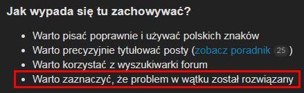 Zasady forum